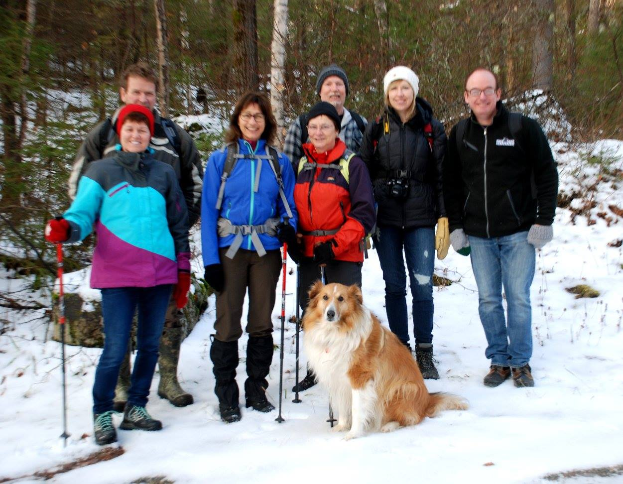 December 2015 Hike up Beaver Mountain