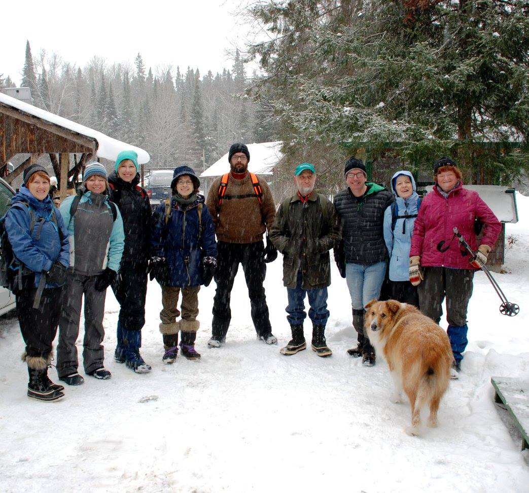 January, 2016 Lundy Township Hike
